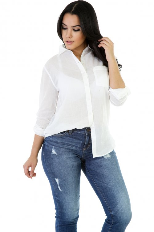 Something High Topped Blouse