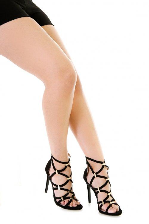 Bucked Straps Heels