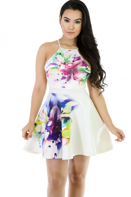 Queen Palette Sketch Dress