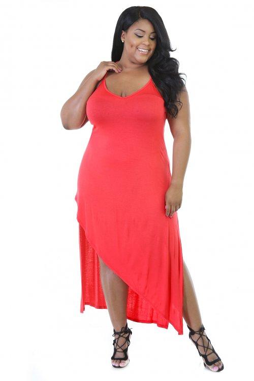 Skip Long Stretchy Dress