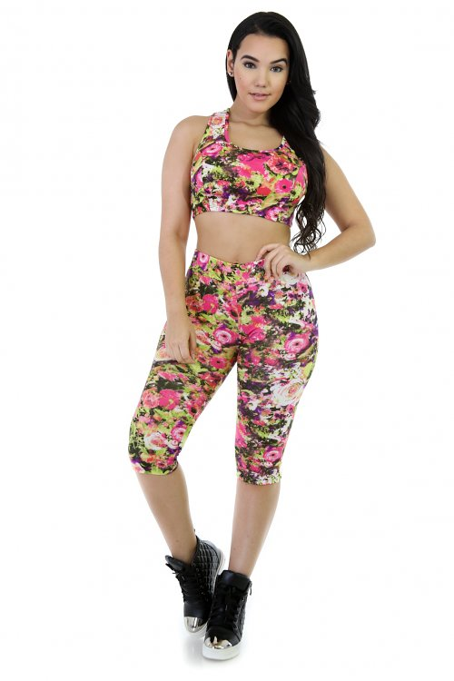 Activewear Pants Set