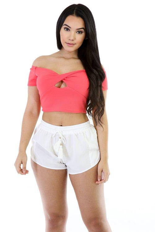 Squat Fit Short Shorts