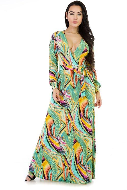 Dizzy Multi Color Maxi Dress