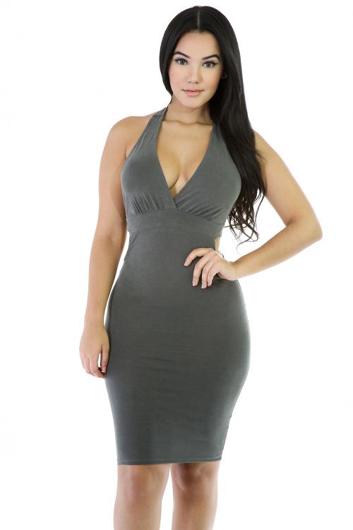 Slik Sexi Midi Dress