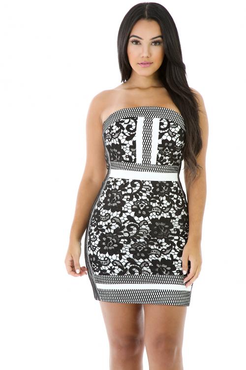 Yanci Lace Dress