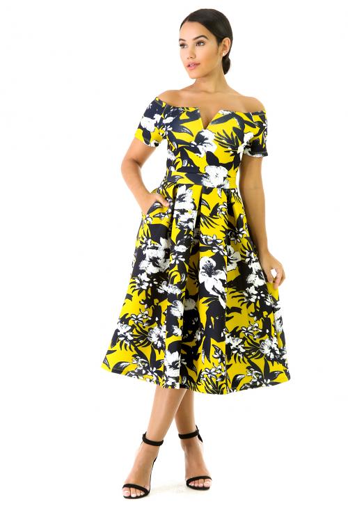 Floral Flare Dress