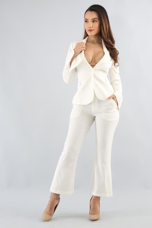 Office Suit Pant Set