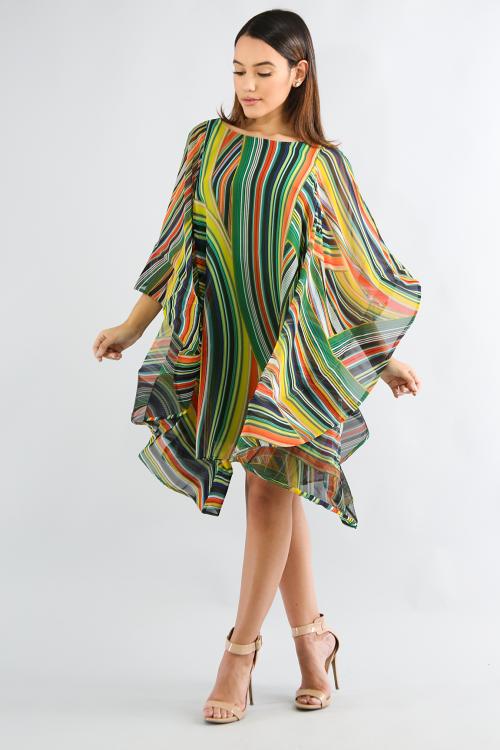 Esmeralda Swirl Dress