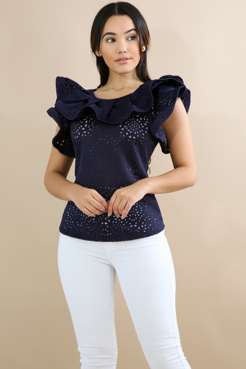 French swirl Top