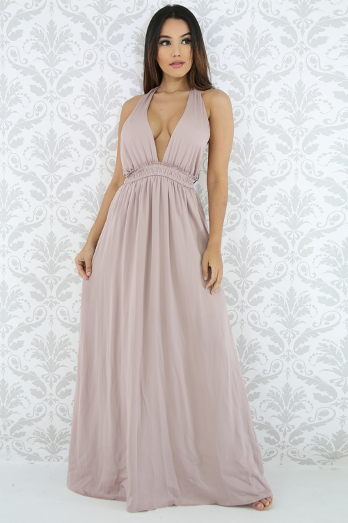 Flare Maxi Dress