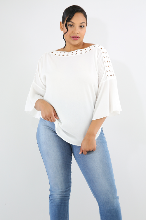 Crochet Dots Top