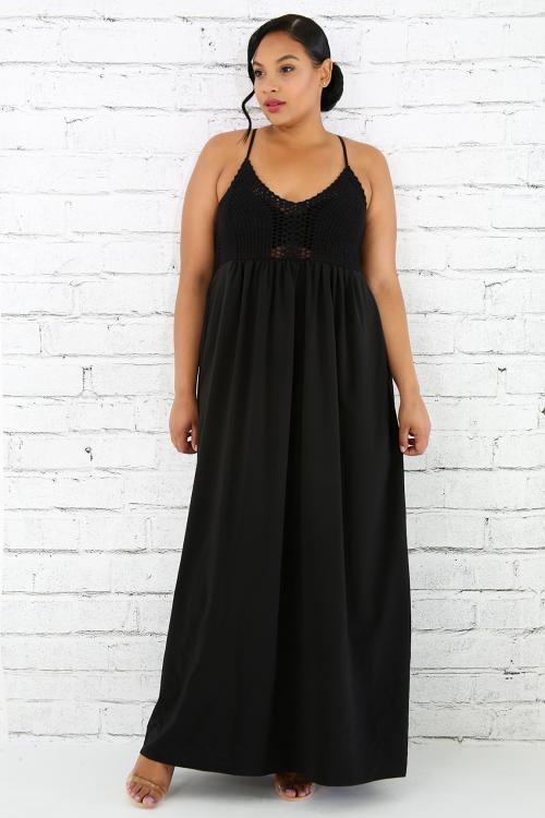 Crotch Sense Maxi Dress