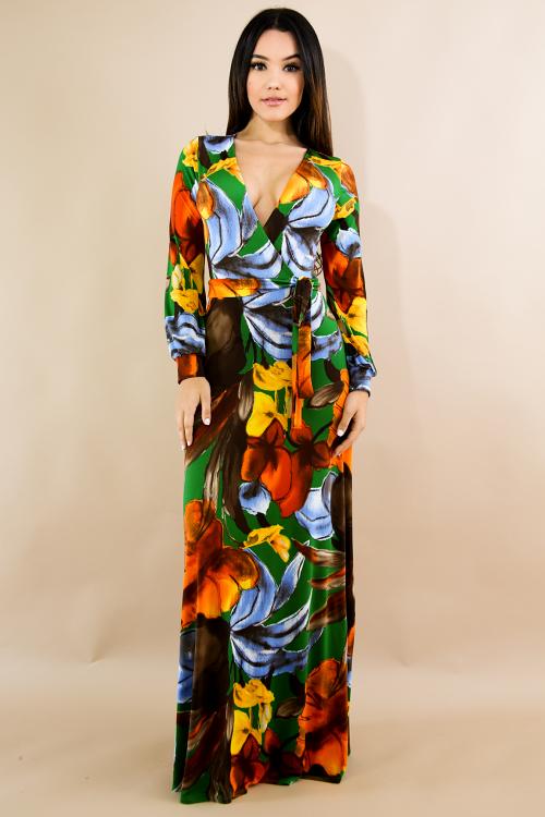 Autumn Maxi Dress