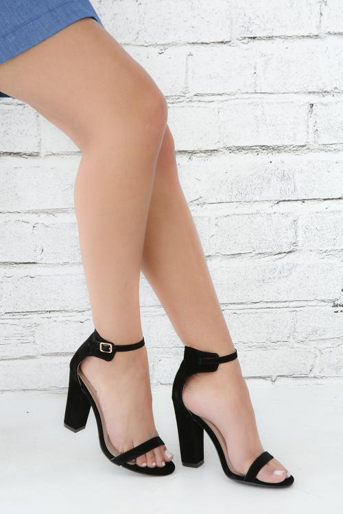 Ankle Strap Open Toe Heel