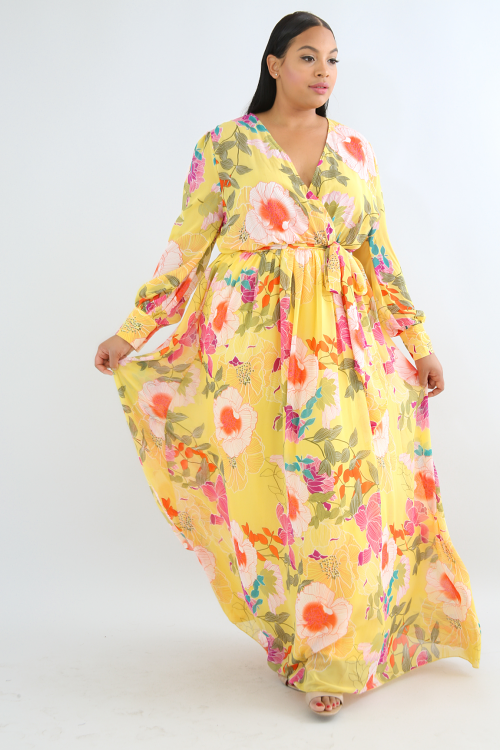 Sun Rise Maxi Dress