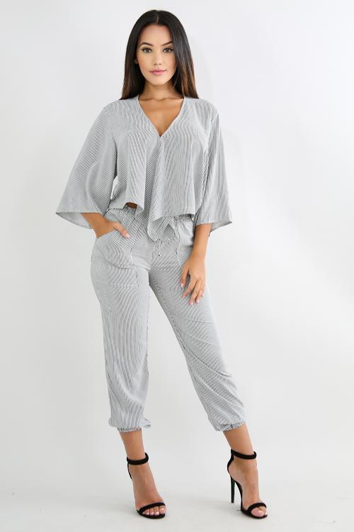 96b2c2c1cd1 Striped Kimono Pant Set