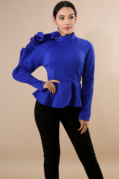 Lizzy Flare Top