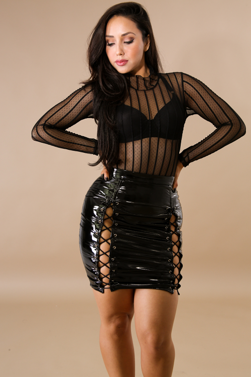 Barbie Lace Up Skirt