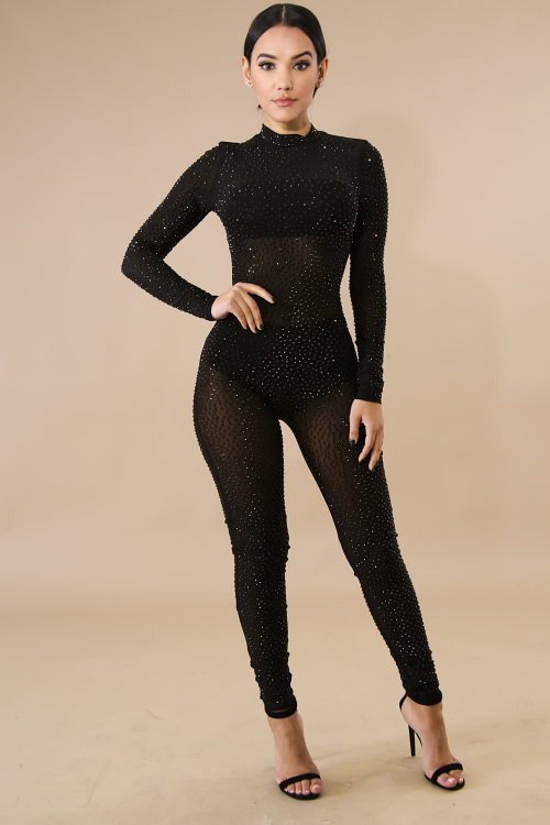 Diamond Girl Jumpsuit