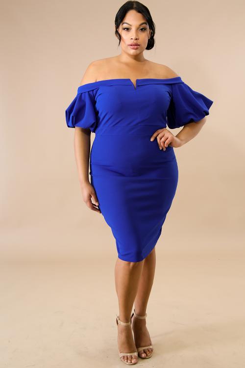 Poms Body-Con Dress