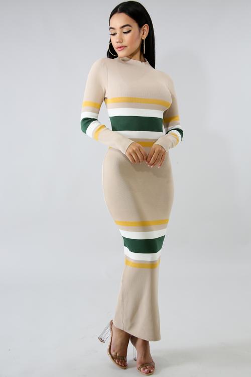 Matilda Knit Body-Con Dress