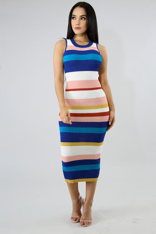 Sweater Knit Maxi Dress