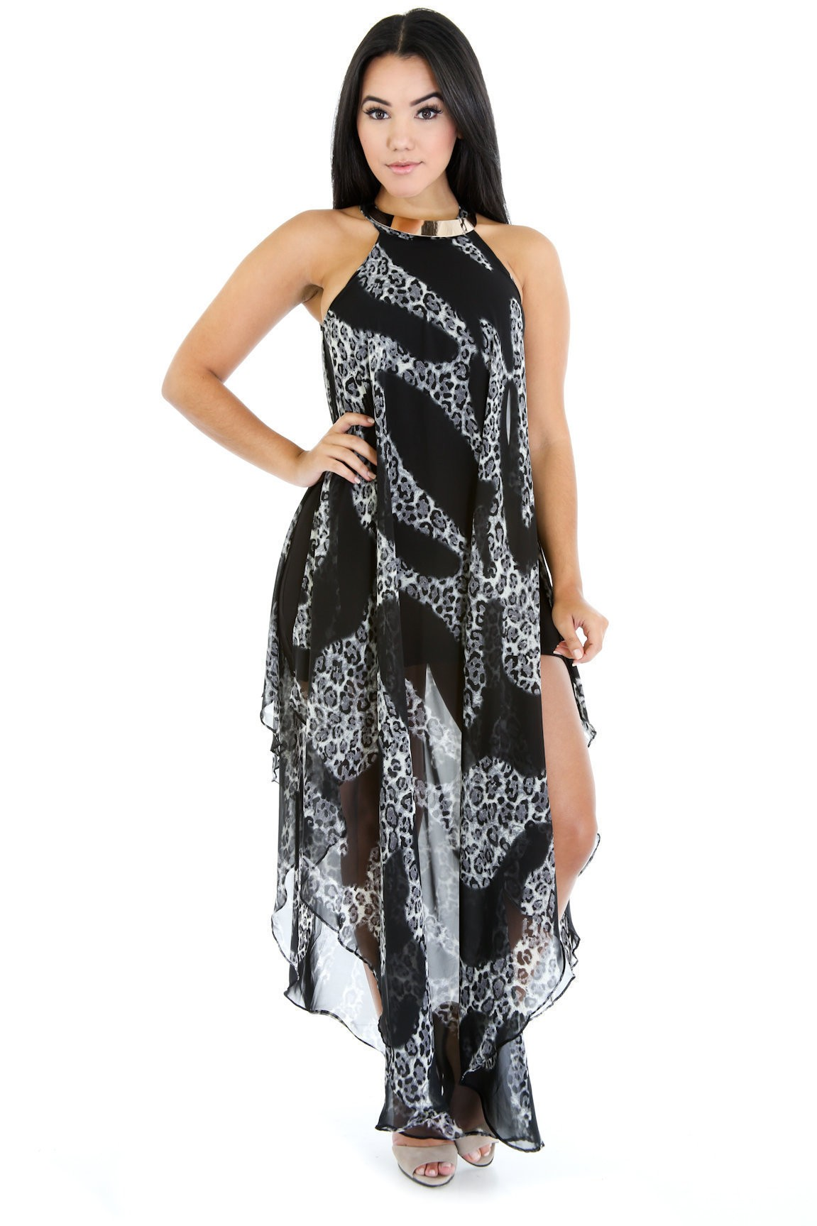 Black Jaguar Fierce Dress