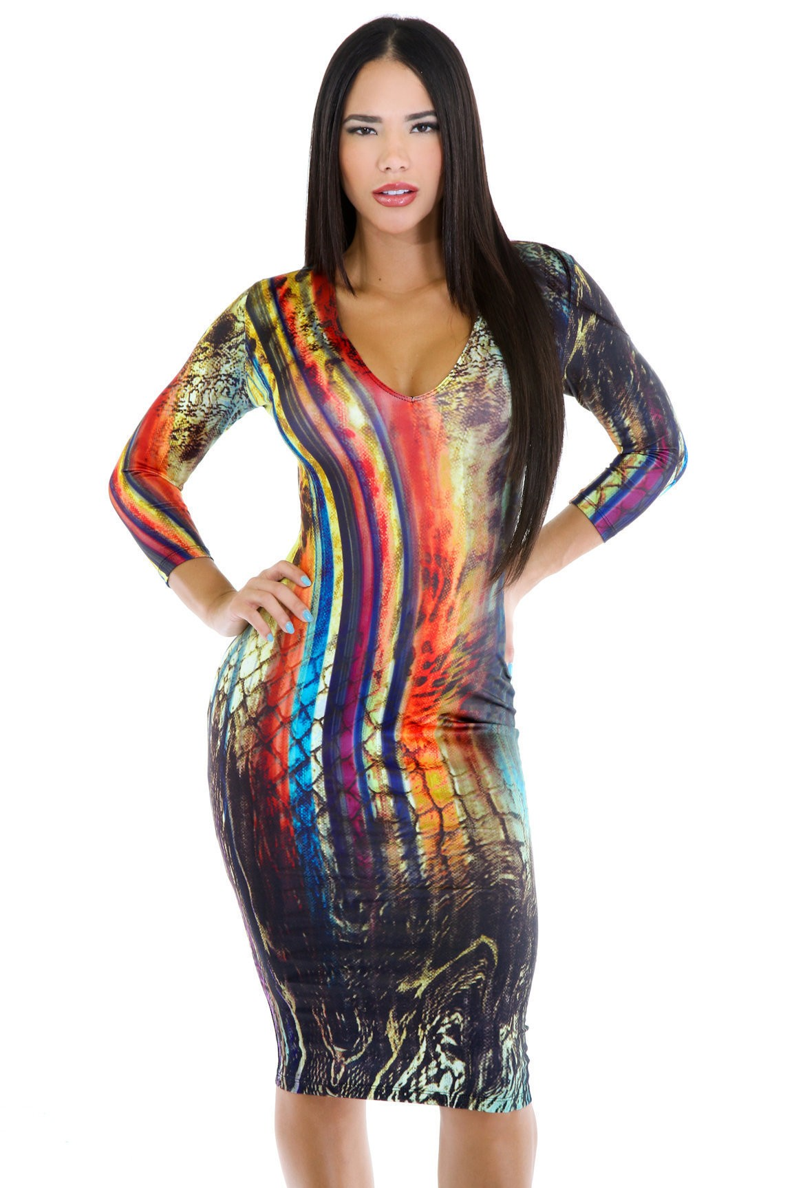 Picasso Abstract Dress
