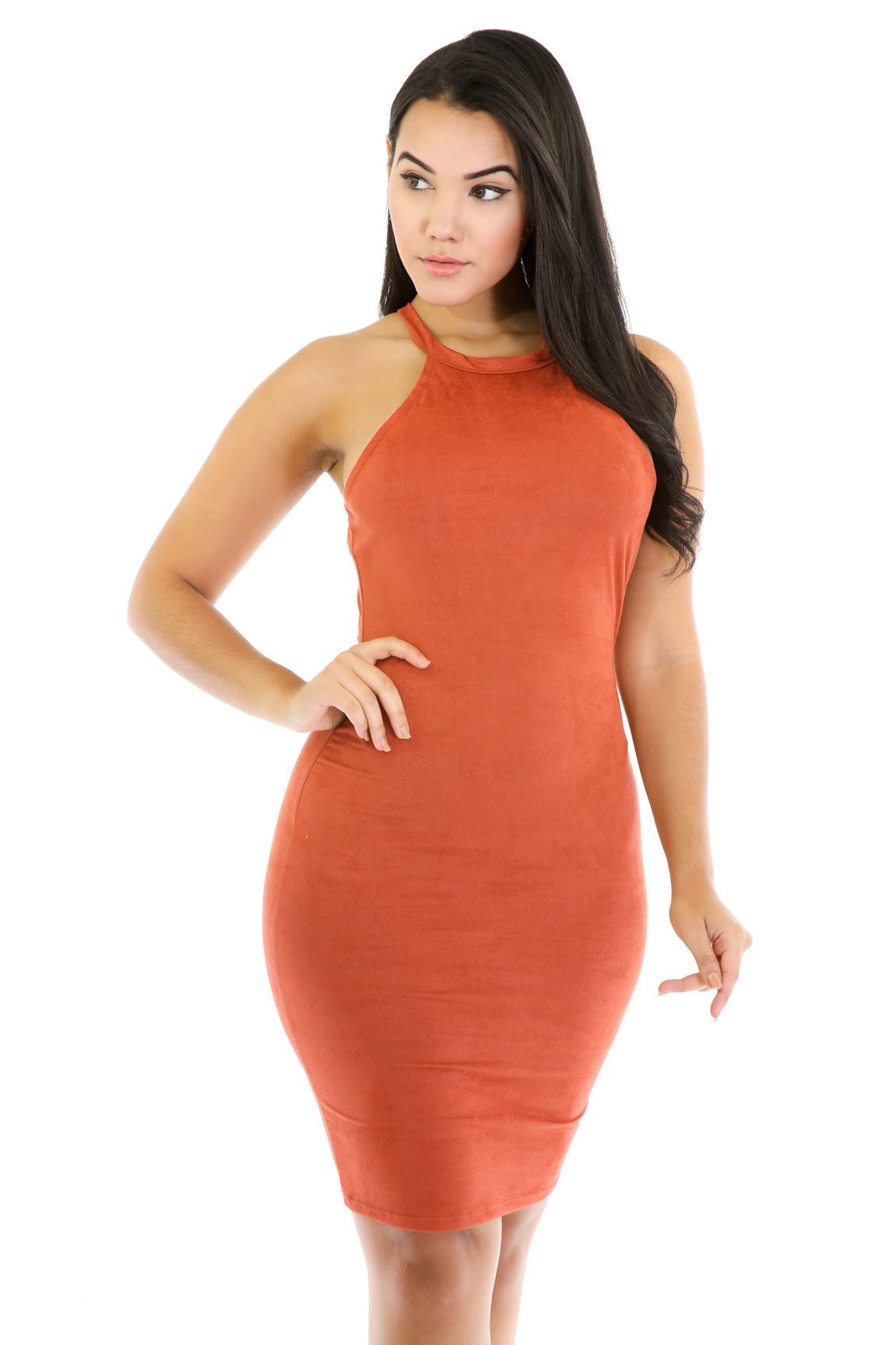 Suede Away Dress