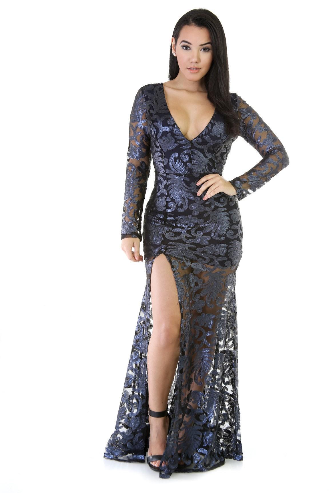 Major Elegance Maxi Dress