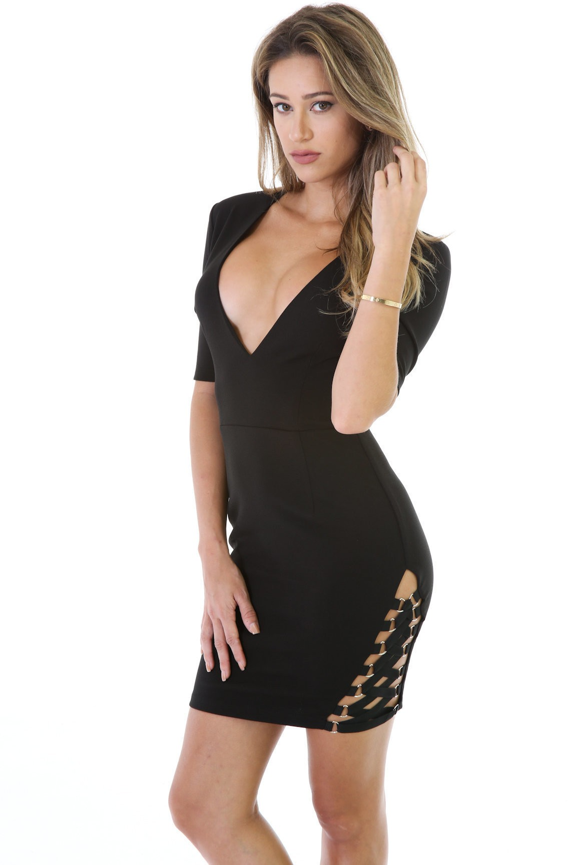 Strap With It Dress
