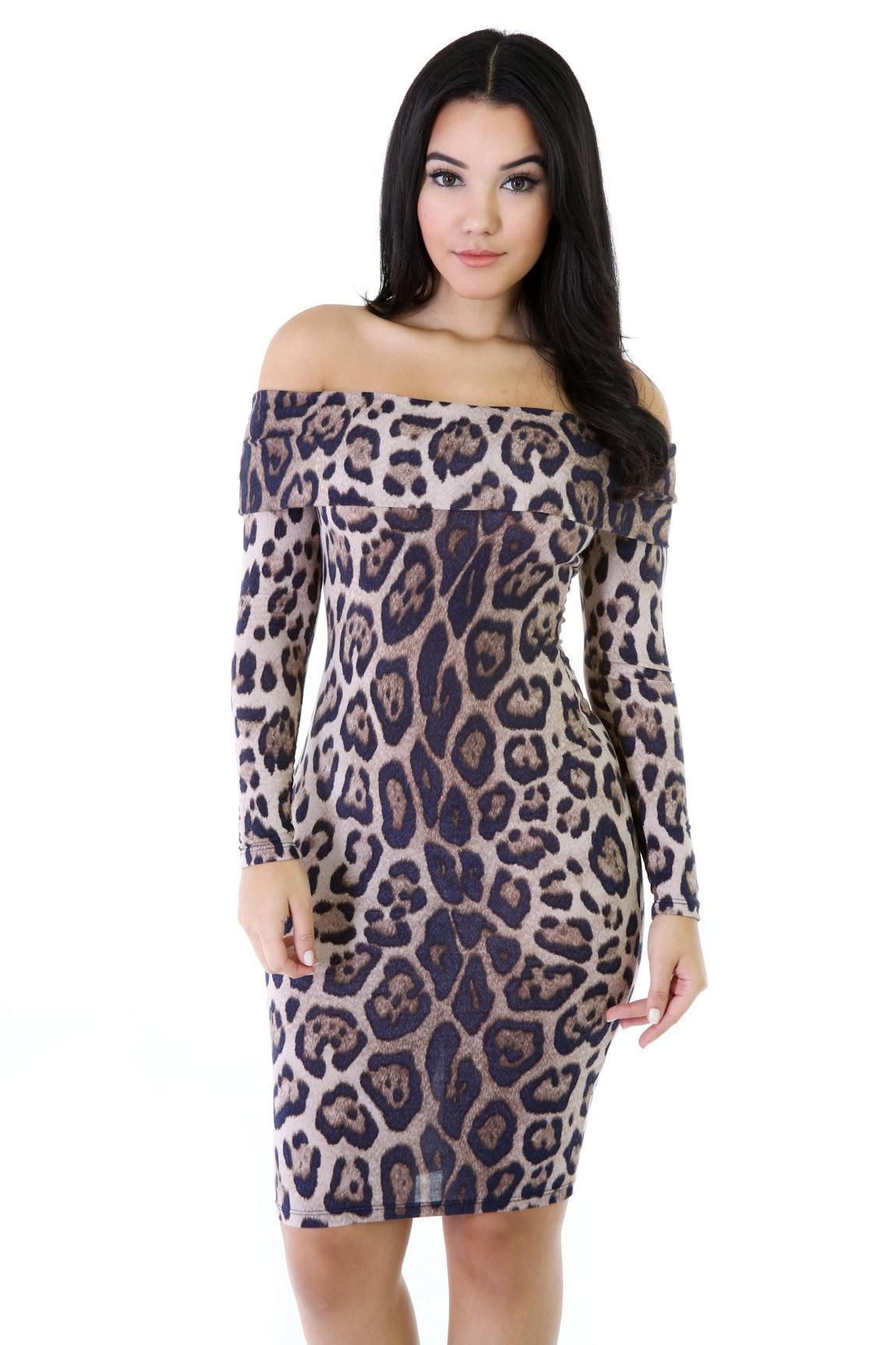 Cheetah Chills 2 Midi Dress