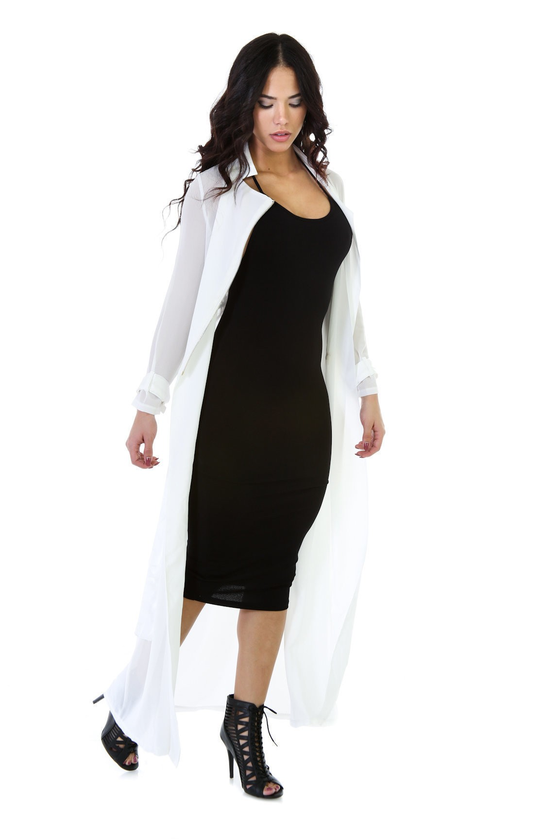 Fast Lanes Trench Coat