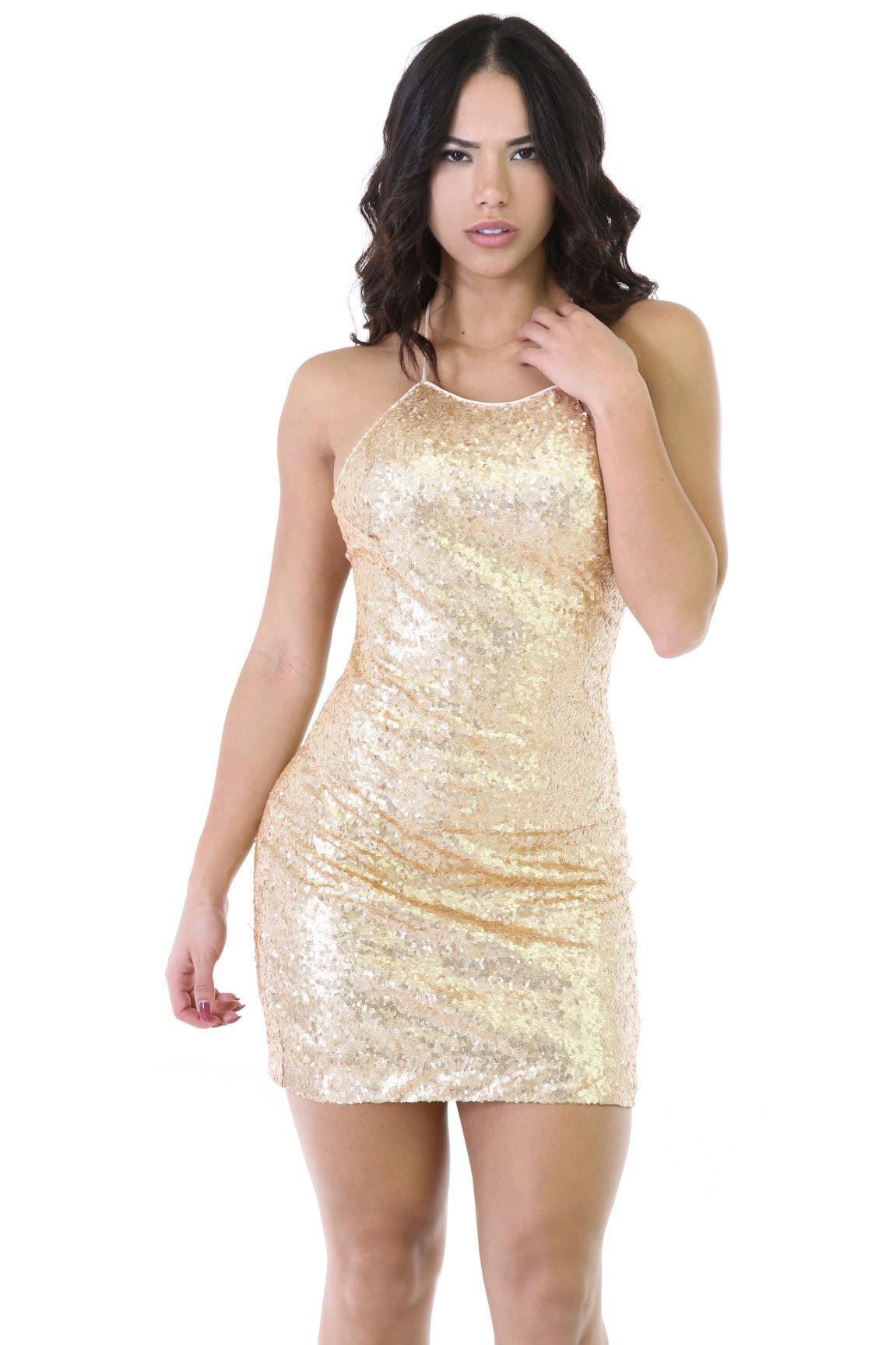 Soft Shimmer Dress