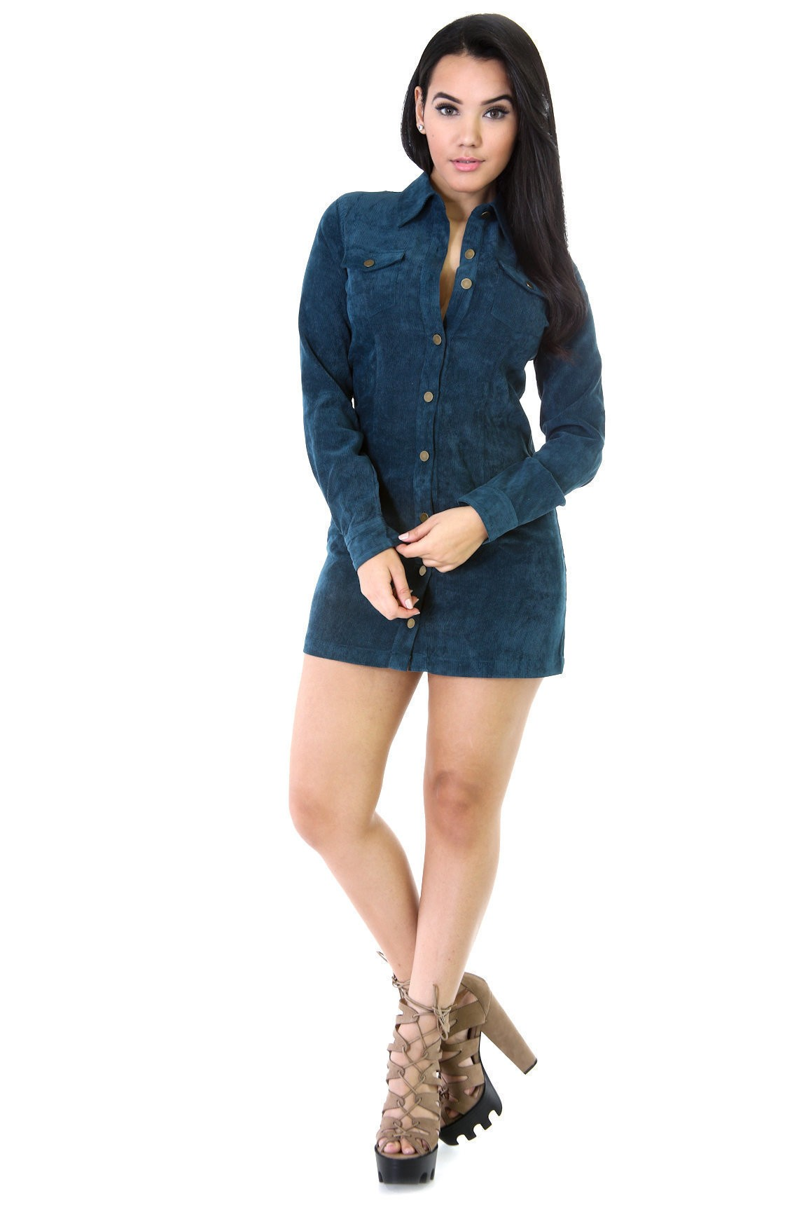 Button It Dress