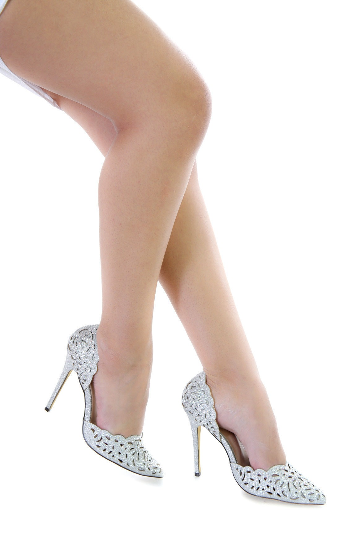 Follow My Sparkles Pointy Toe Pumps