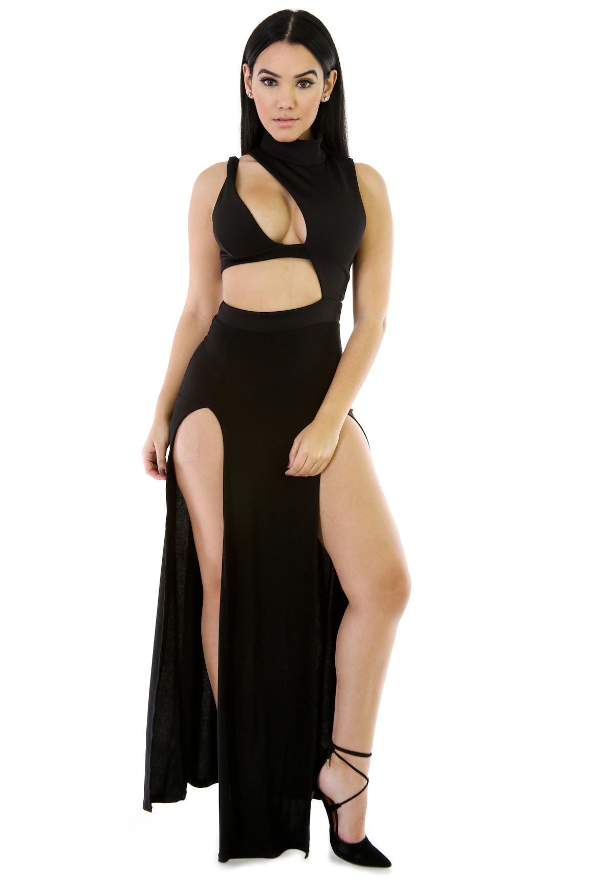 Sexy Outbreak Maxi Dress