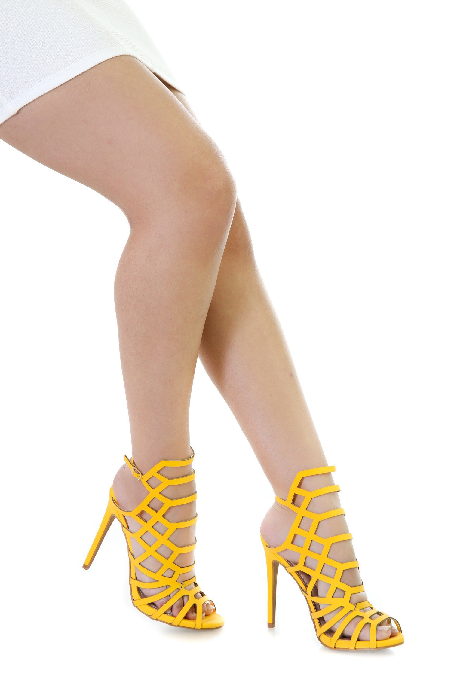 Cut Out Single Sole Heels