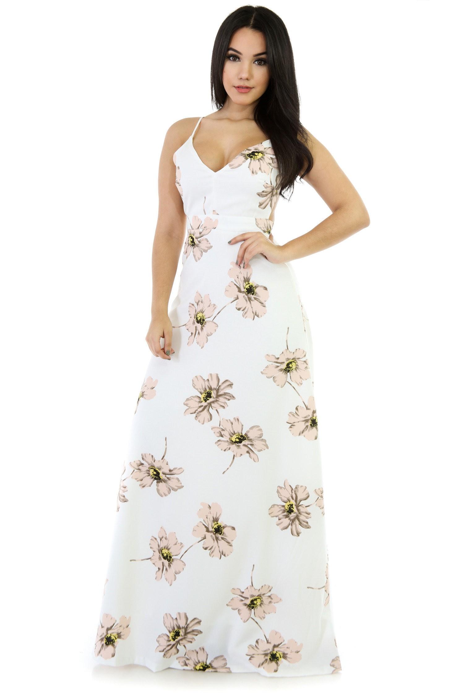 Garden Fancy Maxy Dress