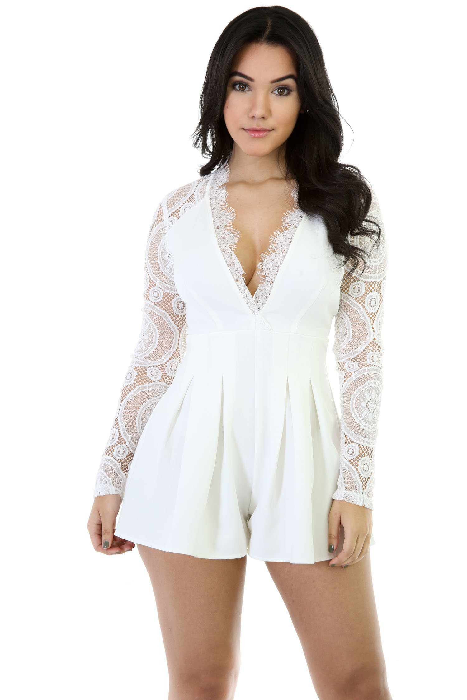 Knitting Trough Hot Romper