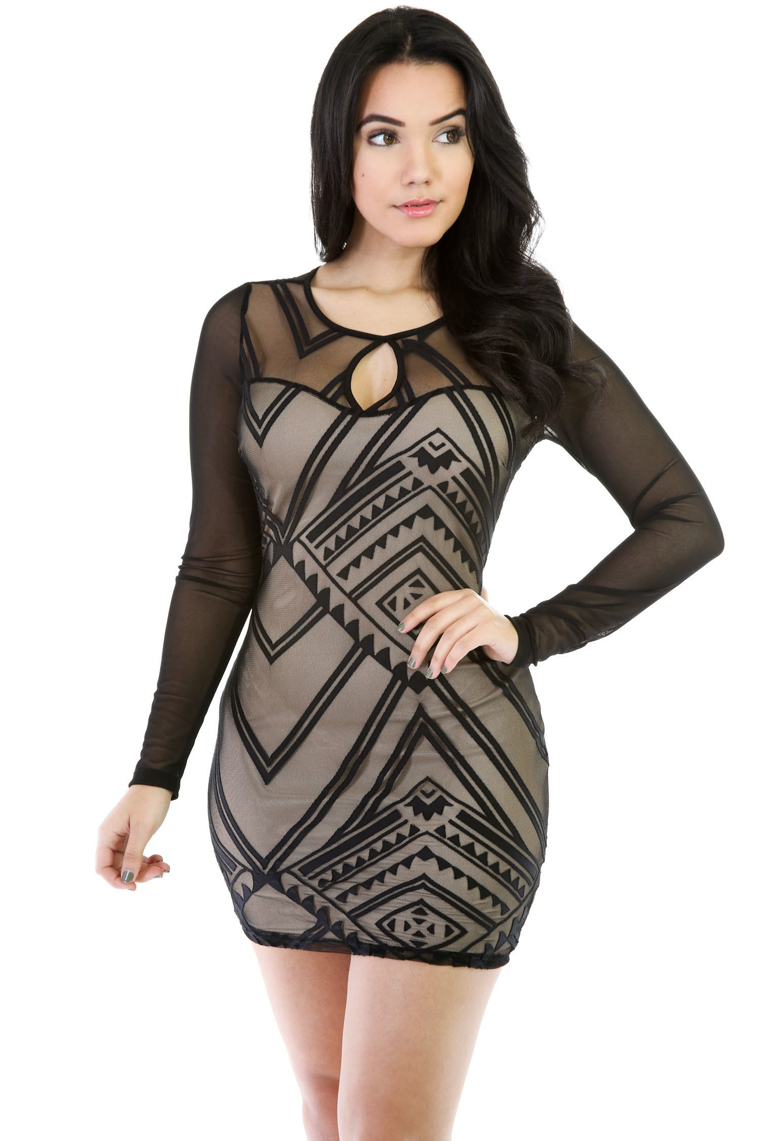 Top Of-The Line Mini Dress