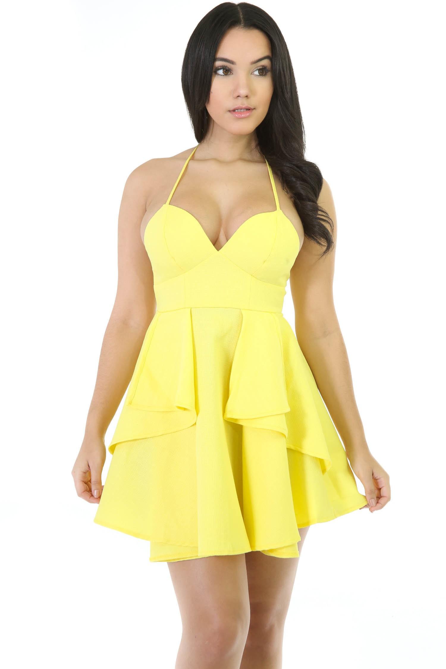 Lana Flare Strap Dress