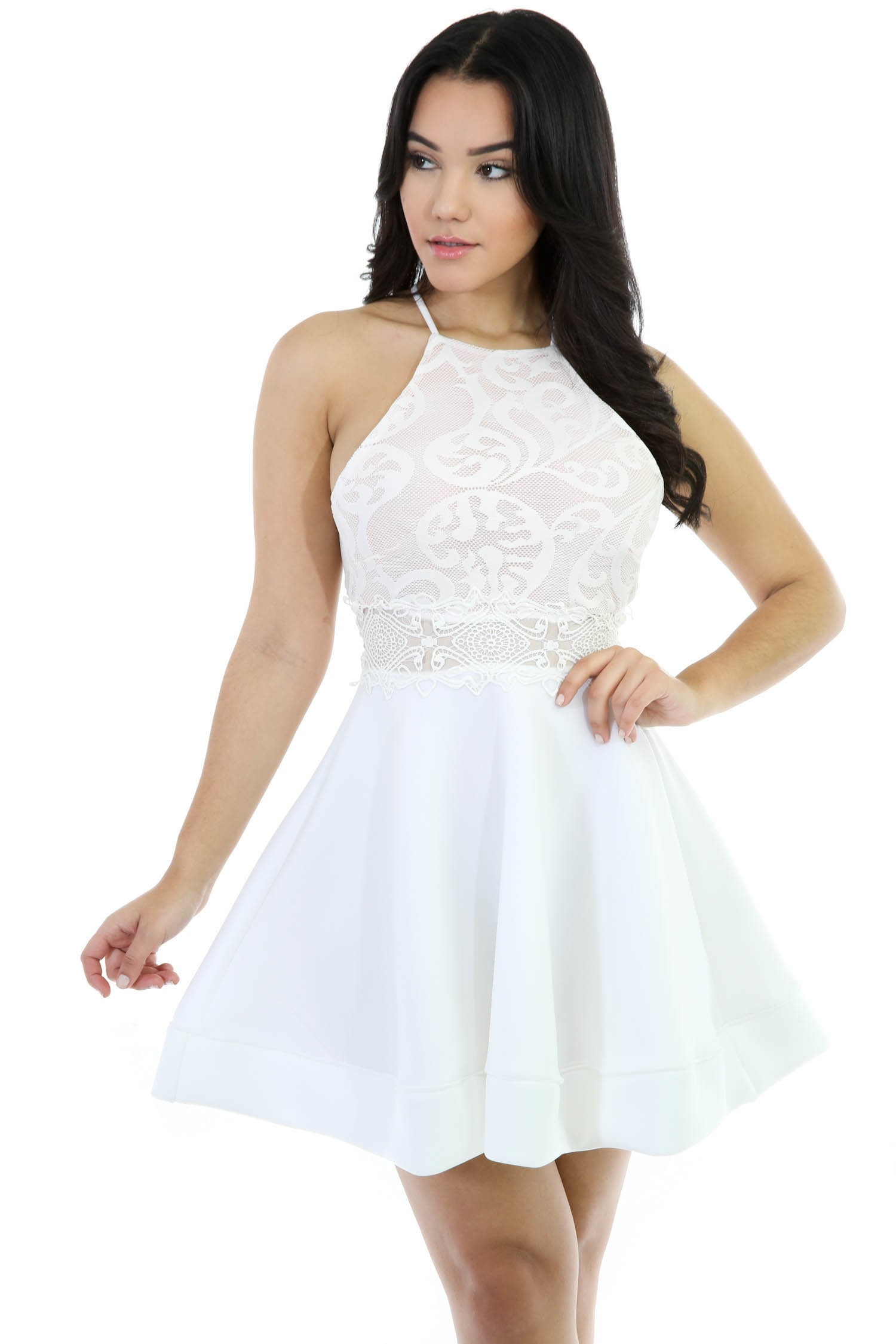 600113e2e65 Flawless Flare Kniitt Dress