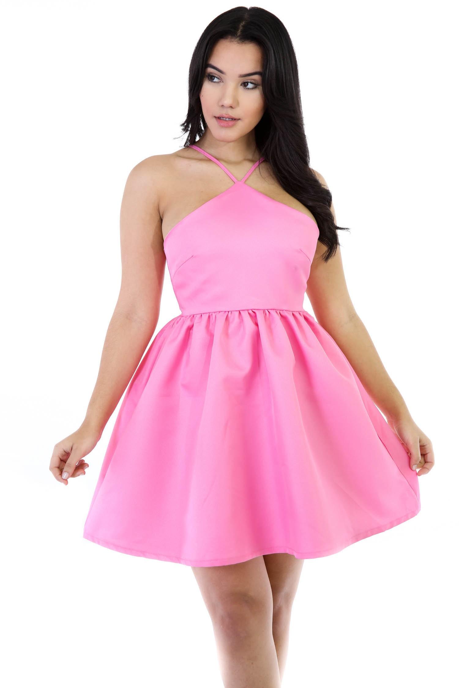 Mary Me Flare Girly Dress