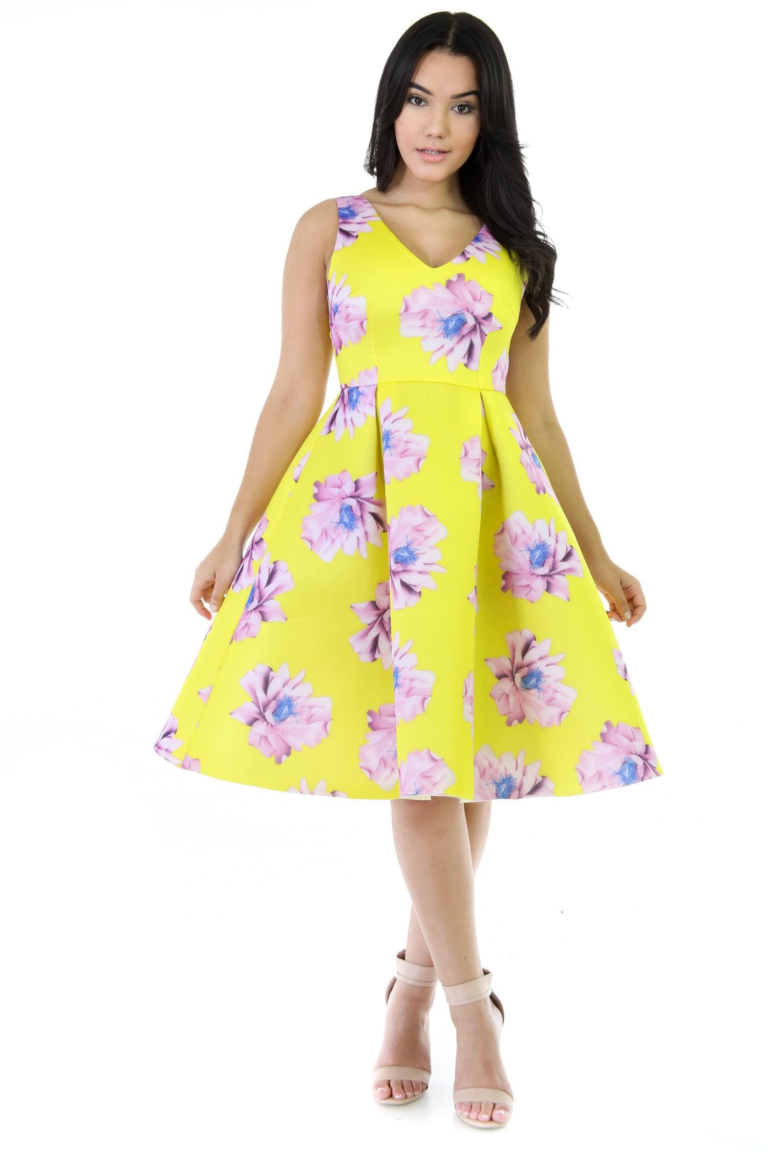 Liliac Sun Flare Dress