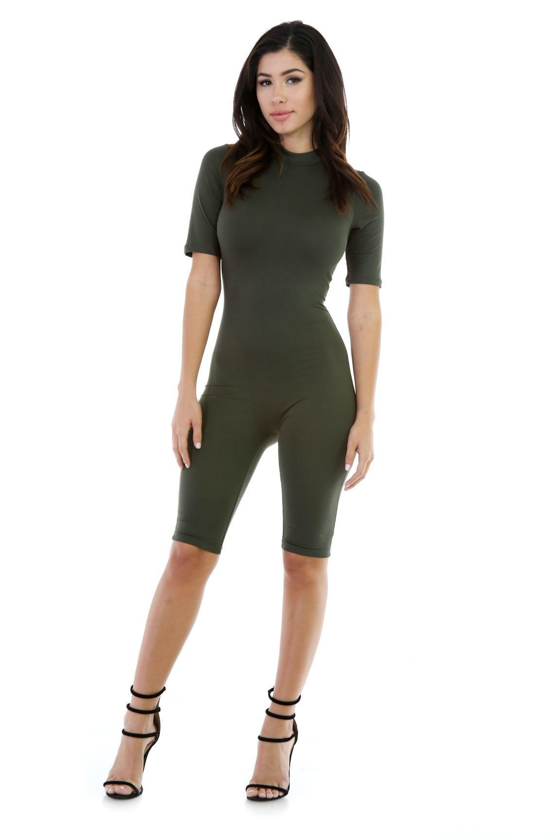 Capri Stretchy Jumpsuit