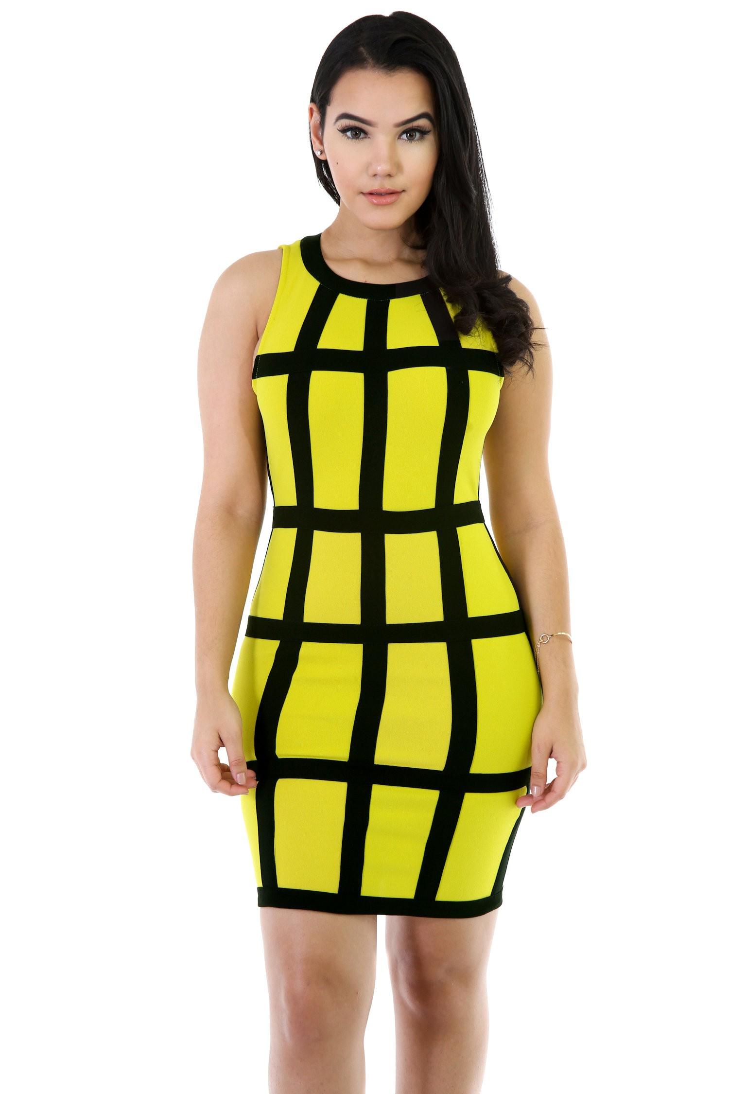 Sleeveless Holy Dice Dress
