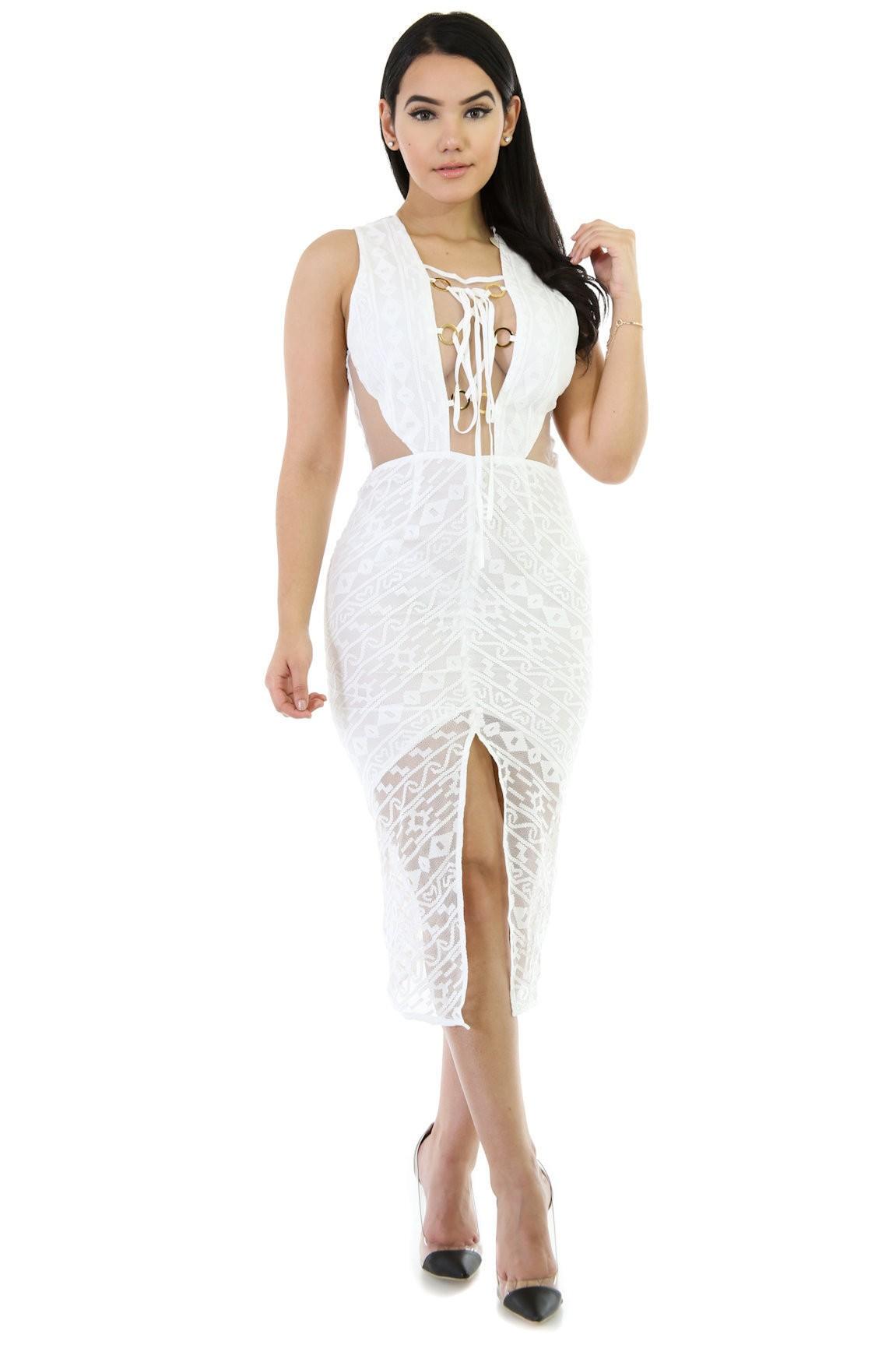 Pretty Body Knit Dress