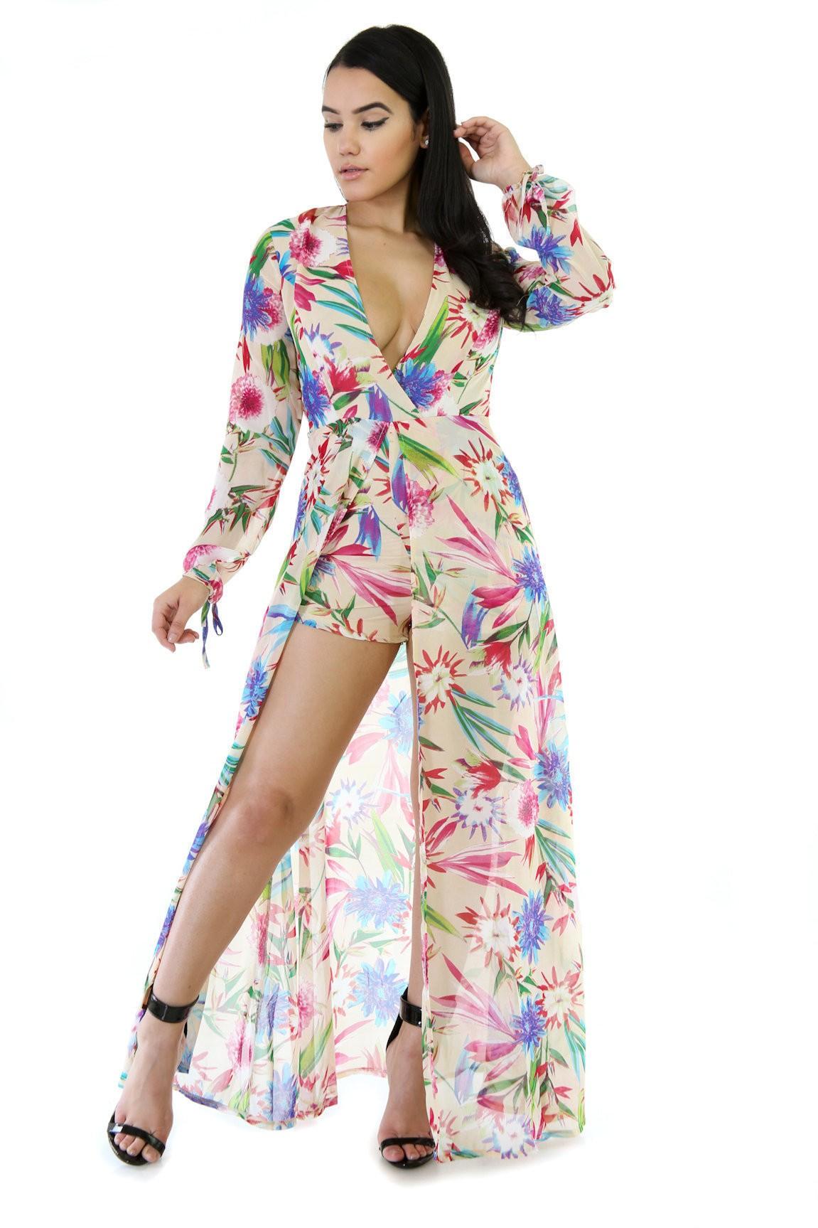 Garden Girl Loose Maxi Dress