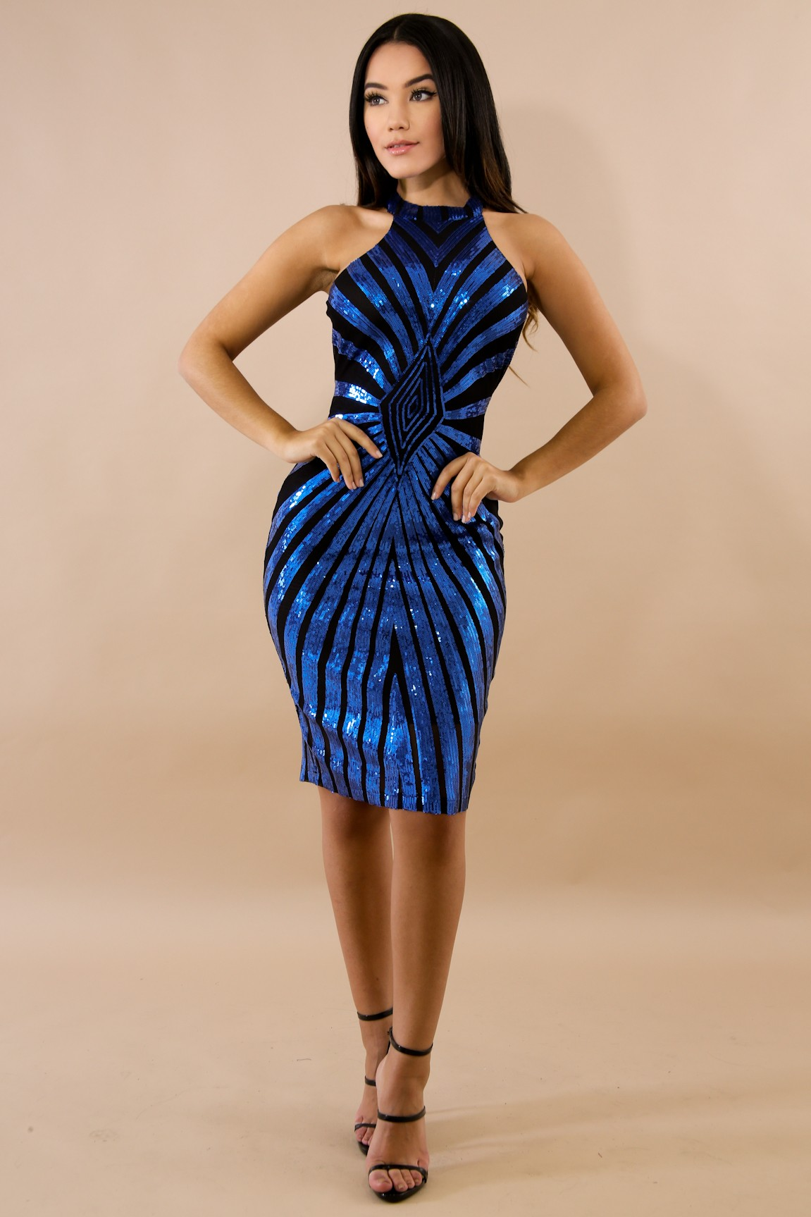 4787ae257fe Sequin Drazzel Body-Con Dress